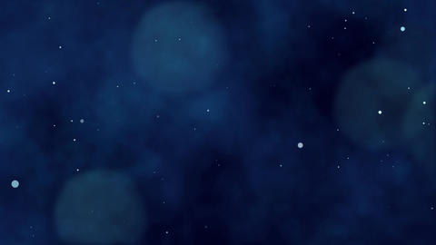 Dark blue particul background