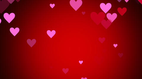 Valentine's day theme motion background Animation