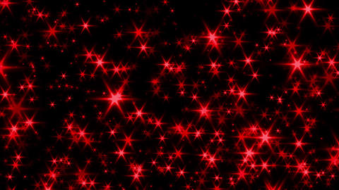 Glitter particle red loop Animation
