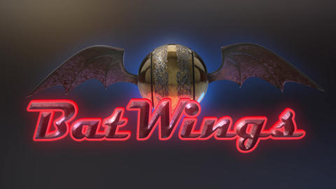 Bat Wings - Horror Fantasy Logo Stinger After Effects Template