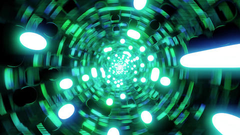 colorful multicolor abstract space galaxy design 3d... Stock Video Footage