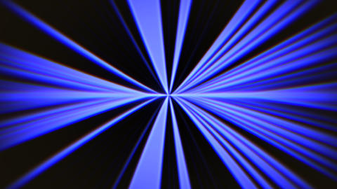 Abstract motion blue lines in 80s style, looping animation retro background Animation