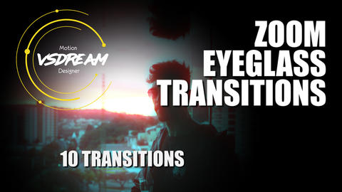 Zoom Eyeglass Transitions Premiere Pro Template