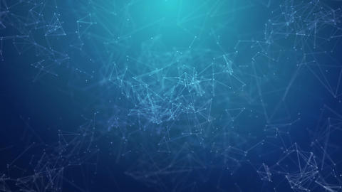 Plexus abstract network background Animation of a growing network Live Action