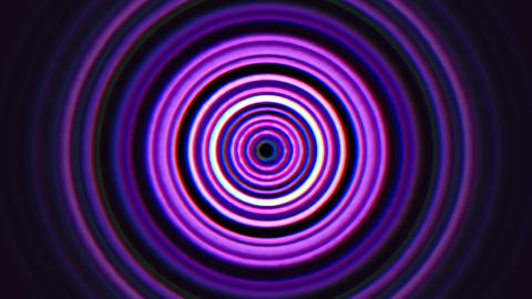 Abstract motion purple spiral lines in 80s style, looping animation retro Animation