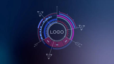 Falcon HUD Logo Series 05 After Effects Template