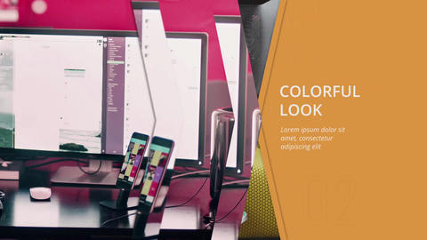 Corporate Colorful Slideshow After Effects Template