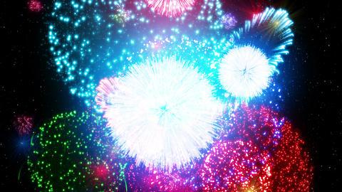 Fireworks Festival 4 Em3 4K Animation