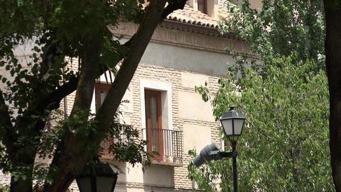 Building Window And Balcony Footage
