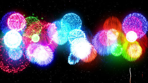 Fireworks Festival 4 Fm1p 4K Animation