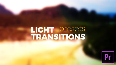 Light Transitions Presets V.6 Plantillas de Premiere Pro