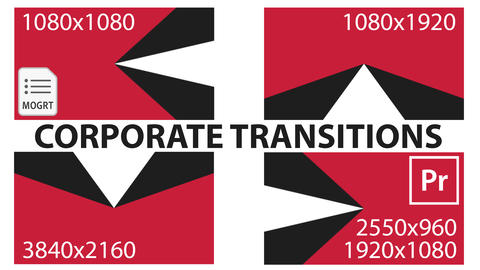 Corporate Transitions Motion Graphics Template