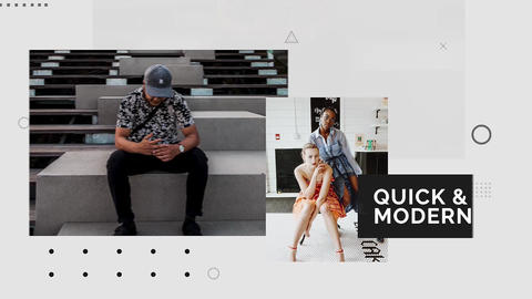 Quick & Modern Premiere Pro Template