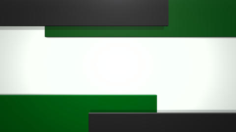 Motion dark green squares abstract background Animation