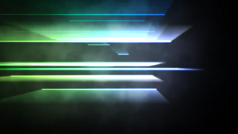 Motion colorful neon lines abstract background Animation