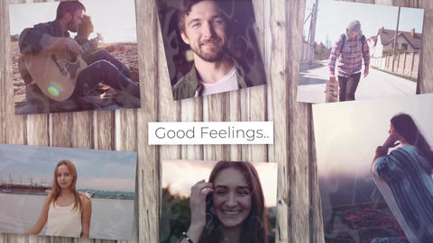 Good Feelings Plantilla de Apple Motion