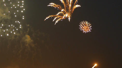 Fireworks in Moscow -World Footage