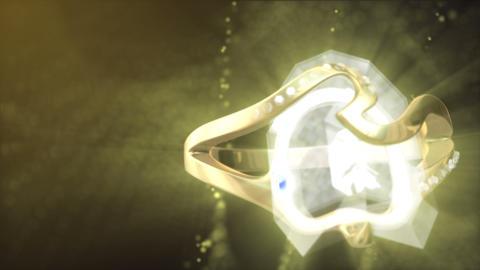 Diamond Ring Background 4K (Loop B) Footage
