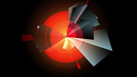 Prism-Pyramidal Kaleidoscopic Pattern 04c Footage