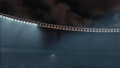 Stadium lights Animation