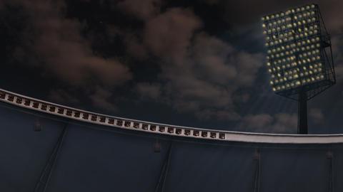 Stadium lights Animation