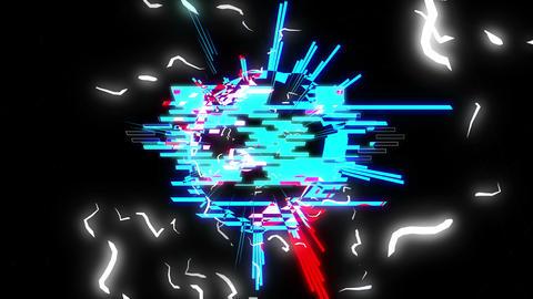 Vj Glitch 4K 04 Vj Loop Animation