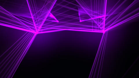 Motion colorful neon lines abstract background CG動画