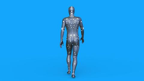 Cyborg Walk Videos animados