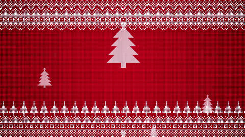 Endlessly Vertically Moving Christmas Trees Overlay Graphic Patterns Moving Sideways Looping Video Animation