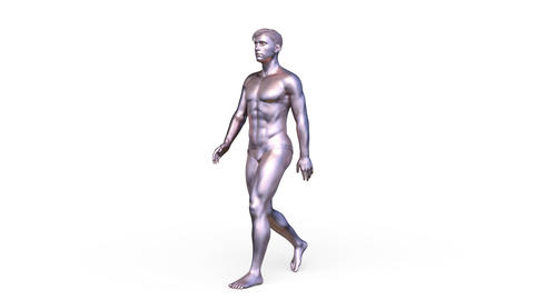 Walking person Animation