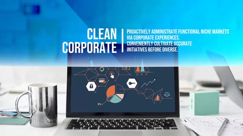 Corporate Clean Intro After Effects Template