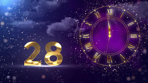 New Year Countdown 2020 Animation
