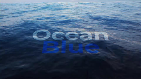 Ocean Title After Effects Template