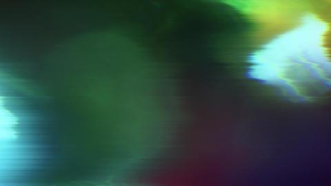 Multi-colored dynamic nostalgic psychedelic bad trip background. Loop meditation Footage