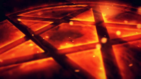 Fire Star Logo Reveal After Effects Template