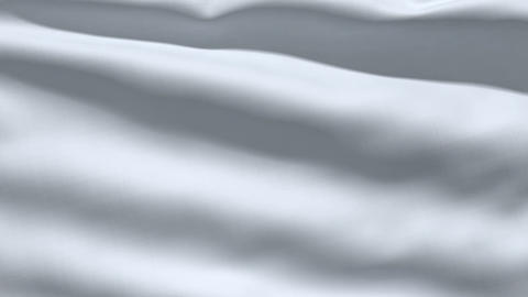 Slowly waving white fabric background Stock Video Footage