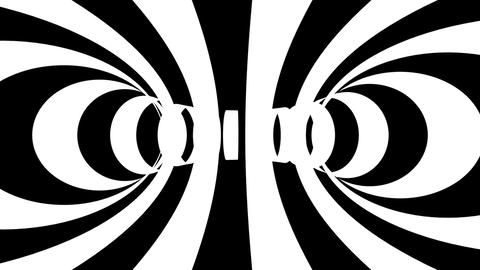 stripe rings tunnel Animation