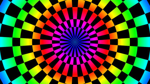 color board hypnotize Animation
