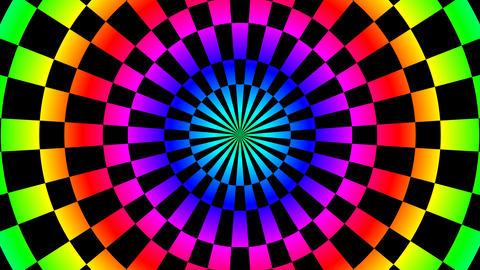 color board hypnotize Stock Video Footage