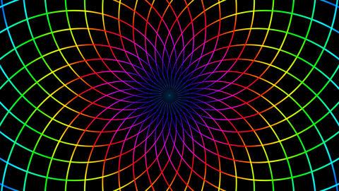 net colour hypnotize Animation