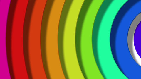 rainbow pop Stock Video Footage
