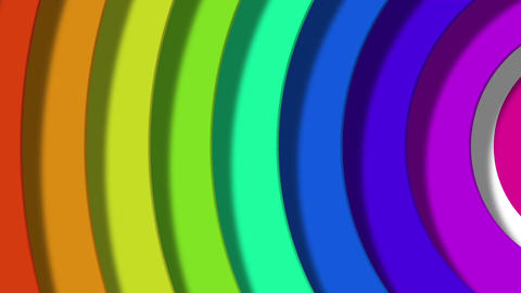 rainbow pop Stock Video Footage