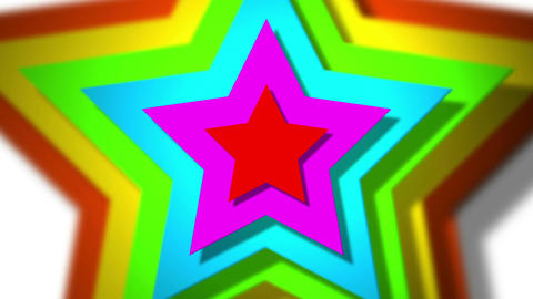 spinning stars Animation