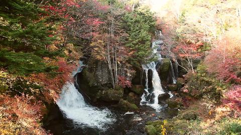 Yudaki Falls Stock Video Footage