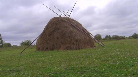 haystack Stock Video Footage