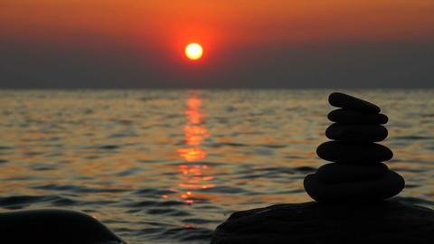 Zen stones Footage
