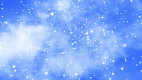 Clouds and Snow Animation