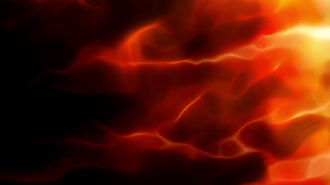 Abstract Fire Energy Animation
