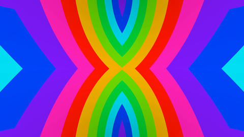 unfold multicolors Stock Video Footage