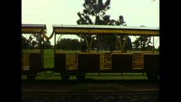 Balley Hooley Steam Train Engine (1983 8mm Vintage Film... Stock Video Footage